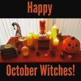 Decoratie aan Halloween Royalty-vrije Stock Fotografie