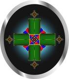 Decoratie als kruis vector illustratie
