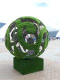 Decoratie in Astana Royalty-vrije Stock Foto's