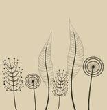 Decoratie met de lentebloemen. Stock Afbeeldingen