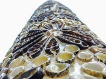 Decoratie met shells royalty-vrije stock afbeeldingen