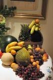 Decoratie met vruchten stock afbeelding