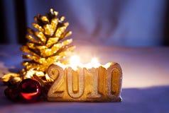 Decoratie, nieuw jaar Royalty-vrije Stock Foto's