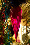 Decoratie op een Nieuwjaarboom Stock Afbeeldingen