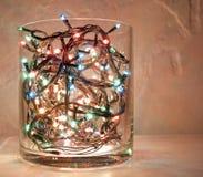 Decoratie op Kerstmis en Nieuwjaar Stock Foto's