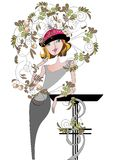 Decoratie van de hoed Stock Foto's
