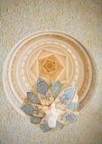 Decoratie van de Moskee van Zayed van de Sjeik. Abu Dhabi Royalty-vrije Stock Fotografie