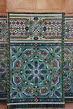 Decoratie van Hassan II Moskee Stock Afbeeldingen