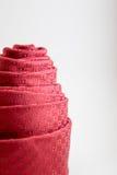 Decoratie van rode gerolde halsband Stock Foto