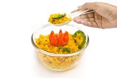 Decoratie van voedsel Royalty-vrije Stock Afbeelding