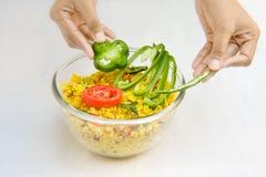 Decoratie van voedsel Royalty-vrije Stock Fotografie