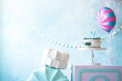 Decoratie voor de viering van de verjaardag van kinderen stock fotografie