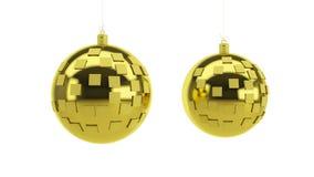 Decoratie voor het nieuwe jaar Stock Afbeelding