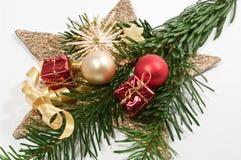 Decoratie voor Kerstmis Stock Foto's
