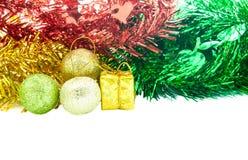 Decoratie voor Kerstmis en Gelukkig Nieuw jaar Stock Foto