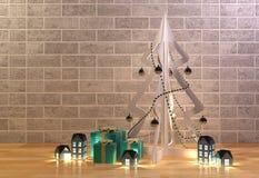 Decoratie voor Kerstmisgebeurtenis Royalty-vrije Stock Foto