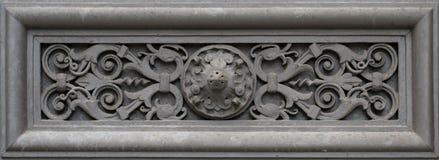 Decoratieelement (Muurornament) royalty-vrije stock foto's