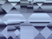 Decoratief abstract modern vierkant patroon Stock Foto's