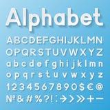 Decoratief alfabet Royalty-vrije Stock Foto
