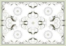 Decoratief antiek oosters patroon. Grafische art. Stock Afbeelding