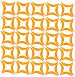 Decoratief bladpatroon Stock Foto