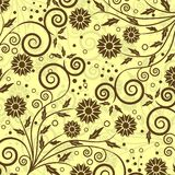 Decoratief bloemenpatroon,   vector illustratie