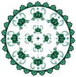 Decoratief bloemenpatroon Royalty-vrije Stock Fotografie
