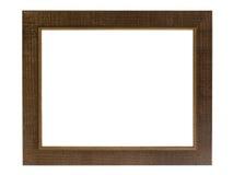Decoratief die fotoframe op witte achtergrond wordt geïsoleerdu. Royalty-vrije Stock Foto's