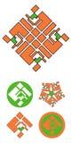 Decoratief element Royalty-vrije Stock Afbeeldingen