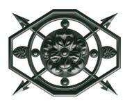 Decoratief element royalty-vrije stock afbeelding