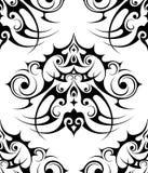 Decoratief elementen naadloos patroon Stock Foto
