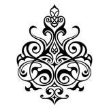 Decoratief elementen oostelijk patroon Stock Foto's