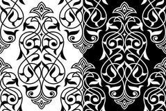 Decoratief elementen oostelijk patroon Royalty-vrije Stock Foto's