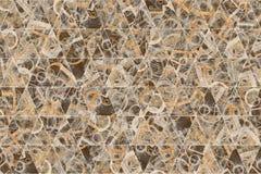Decoratief en patroon van de geometrische illustraties van de driehoeksstrook Stijl, ontwerp, dekking & concept stock foto's