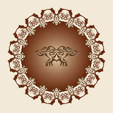 Decoratief Frame Vector Illustratie