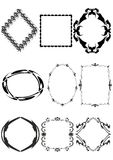 Decoratief frame. vector illustratie
