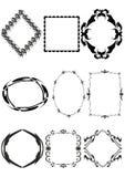 Decoratief frame. Royalty-vrije Stock Foto's