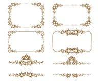 Decoratief frame Stock Afbeeldingen