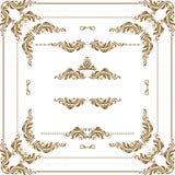 Decoratief frame Royalty-vrije Stock Fotografie