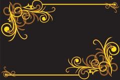 Decoratief frame Stock Afbeelding