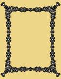 Decoratief frame Royalty-vrije Stock Afbeeldingen