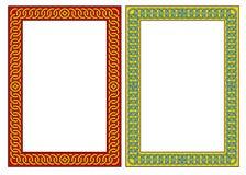 Decoratief Frame. JPG en EPS Royalty-vrije Stock Fotografie