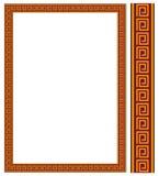 Decoratief frame JPG + EPS Royalty-vrije Stock Foto's