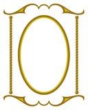 Decoratief frame JPG + EPS Royalty-vrije Stock Afbeeldingen