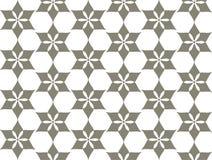 Decoratief geometrisch bloemtraliewerk Stock Foto's