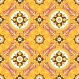 Decoratief Geometrisch Naadloos Patroon Stock Fotografie