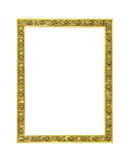Decoratief gouden frame royalty-vrije stock foto