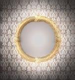 Decoratief Gouden frame royalty-vrije stock afbeeldingen