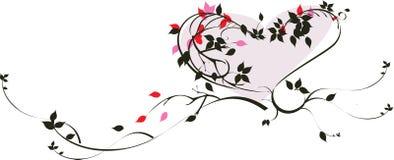 Decoratief hart royalty-vrije illustratie