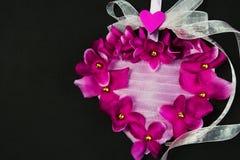 Decoratief Hart Royalty-vrije Stock Foto's
